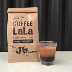 JB Just Black Blend - Coffee Lala - Coffee Beans, Hot Chocolate, Machines, Grinder, and More - Coromandel, NZ